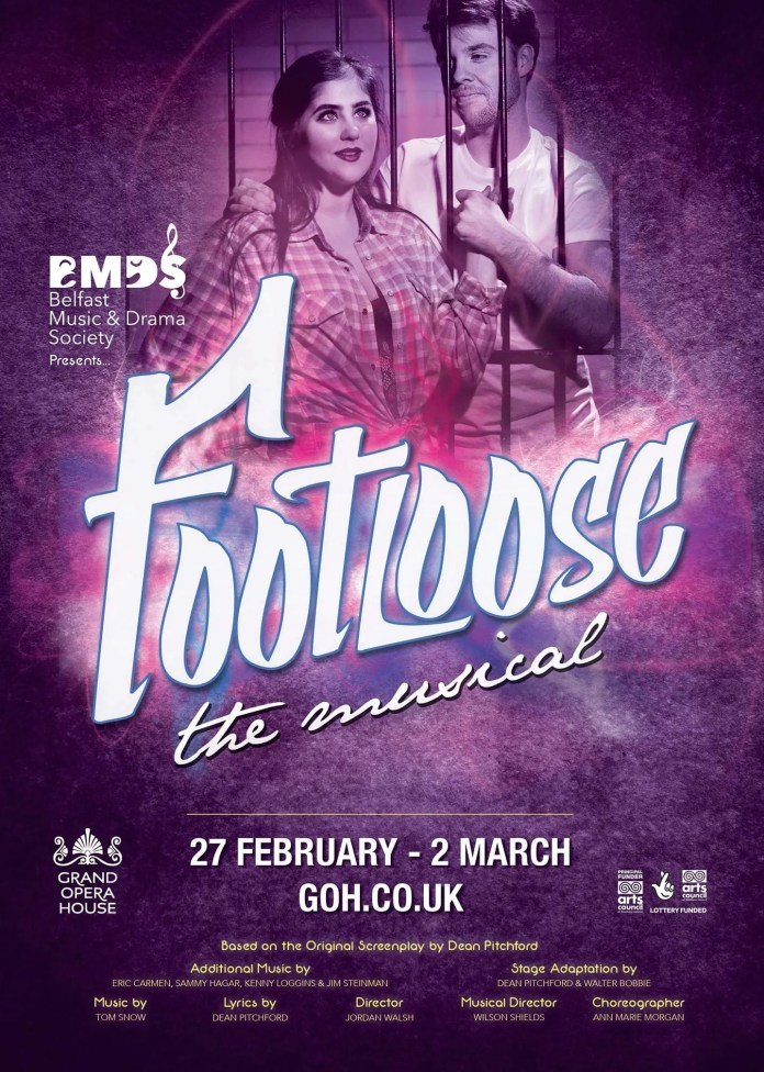 Footloose Grand Opera House Belfast