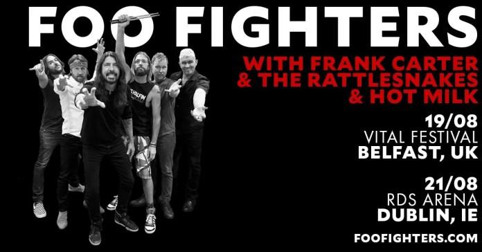 Foofighters Belfast