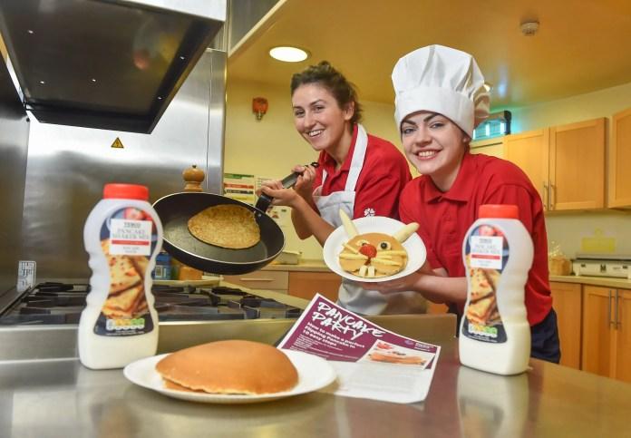 Northern Ireland Children's Hospice nurses, Sarah Dunne and Rachel Murph...