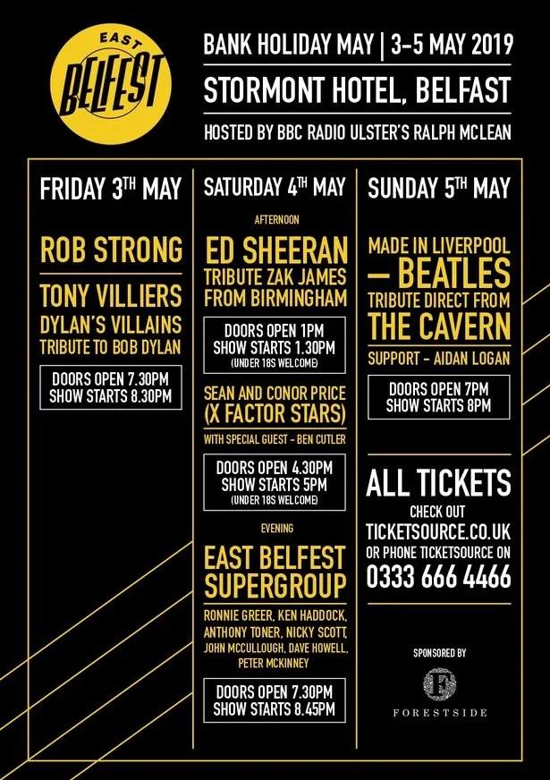 East BelFEST Music Festival