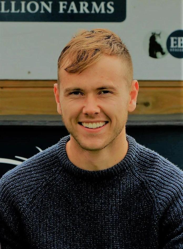Shane Webb - Head Groundsman at Down Royal Racecourse (colour)