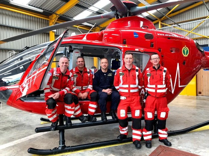 AIR AMBULANCE NI TASKED 931 TIMES IN TWO YEARS