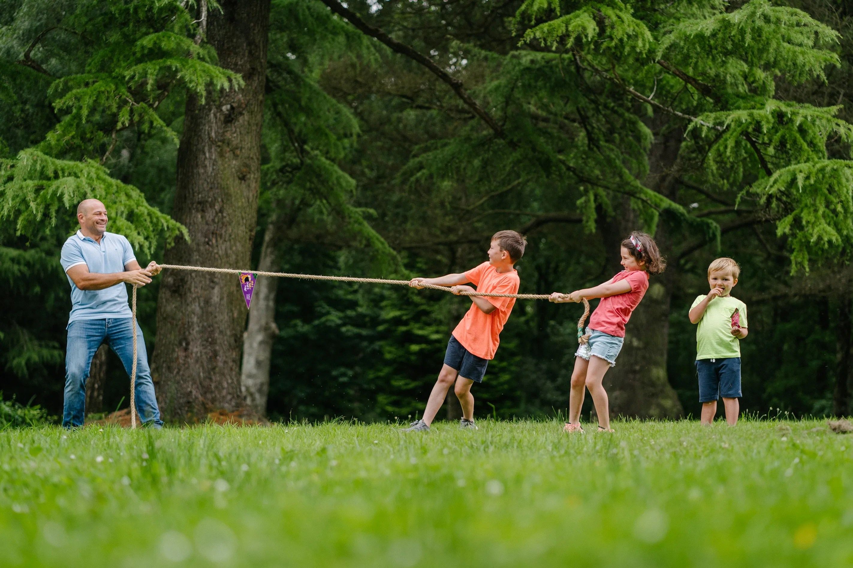 Rory Best Calls on Families to Get One of Their Five a Day and Take on the 'Forest Feast Super Wild Challenge'