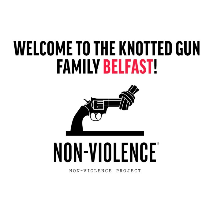Knotted Gun Non-Violence image