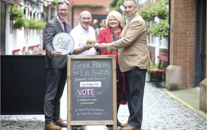 Irish News Great Places to Eat Awards