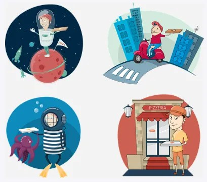 A History of Online Food Delivery System