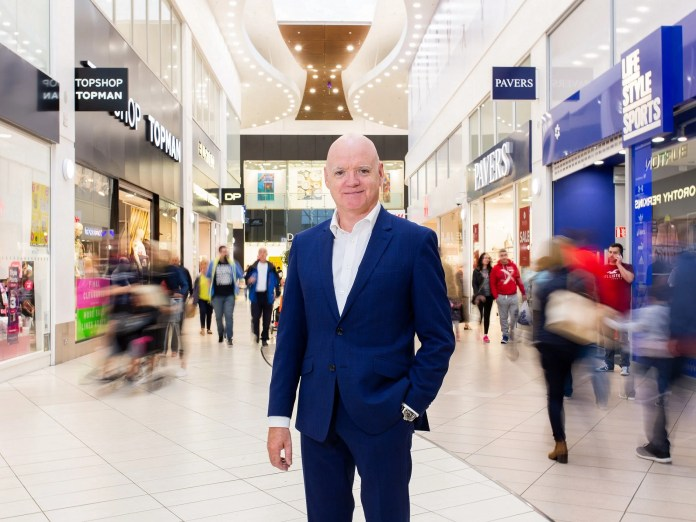 Rushmere Shopping Centre manager, Martin Walsh - landscape