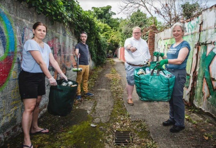ROSETTA RESIDENTS WORK TO REPURPOSE ANTISOCIAL ALLEYWAY INTO COMMUNITY SPACE