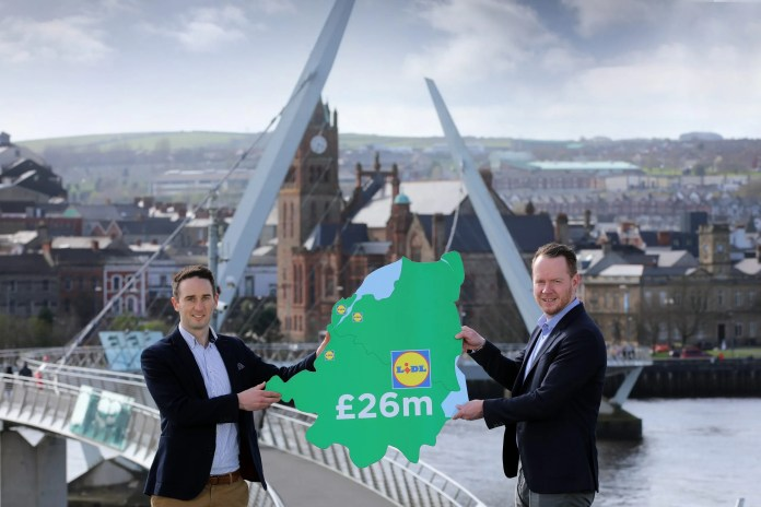 Lidl Northern Ireland confirms £26 million North West investment in three new stores