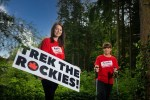 Belfast Adventurer Takes Up Action Cancer '2022 Trek the Rockies' Challenge