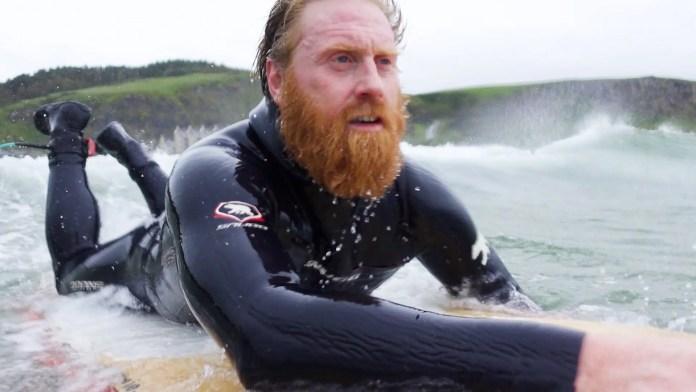Al Mennie Surfing