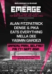 """SHINE & BELSONIC PRESENTS: 'EMERGE' A ONE-OFF FREE """"THANK YOU"""" EVENT FOR NORTHERN IRELAND MUSIC FANS"""