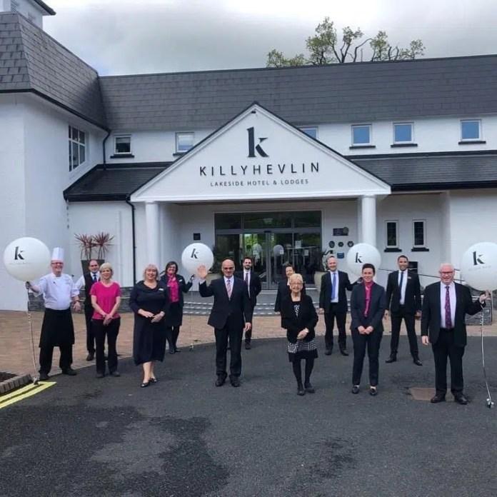 The Killyhevlin Team