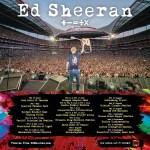 Ed Sheeran 2022 tour announcement