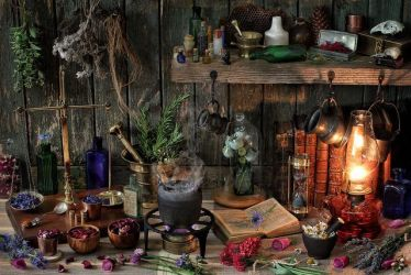A Witch s Natural Magic for Your Kitchen Love Booklet