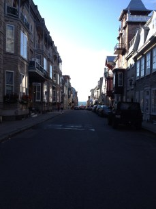 Quebec City to the St. Lawrence River
