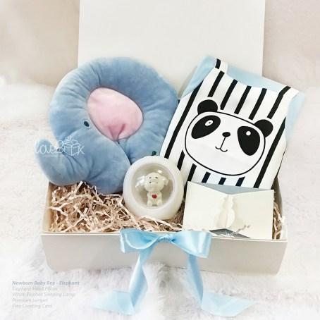 Newborn Baby Giftbox - Elephant Sleeping Set