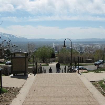 Ensign Peak Trail in Salt Lake City Utah