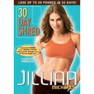 Jillian Michaels – 30 Day Shred only $6.99! (This works!!!)