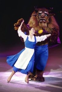 Belle and Beast on Disney on Ice