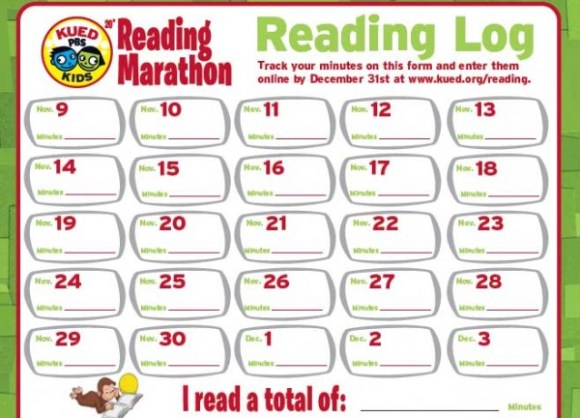 kued reading log 2012