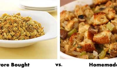 Do you eat a store bought or homemade Thanksgiving dinner?