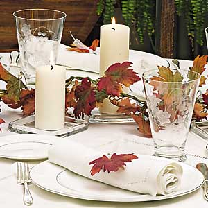 14 Days to an Easy Thanksgiving - Day 5: Plates, Silverware, and Glasses