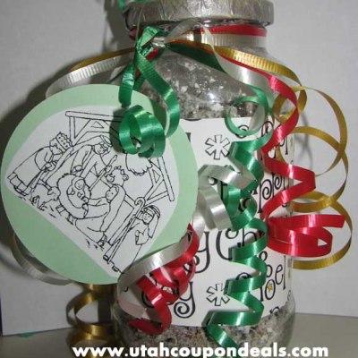 DIY Homemade Christmas Treat Gifts Jar