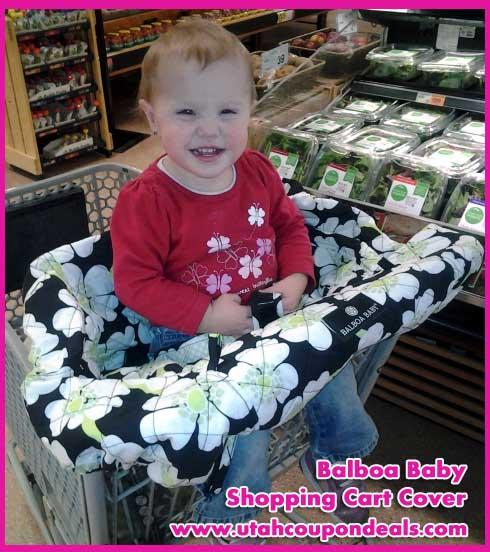 Balboa Baby Shopping Cart Cover