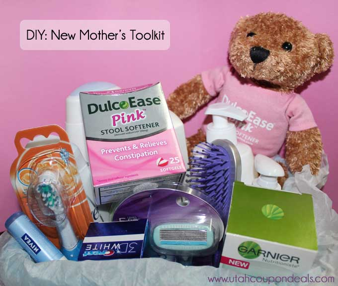 Diy New Mothers Toolkit With Dulcoease 174 Pink Lovebugs