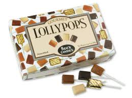 see's candies signature lollypops