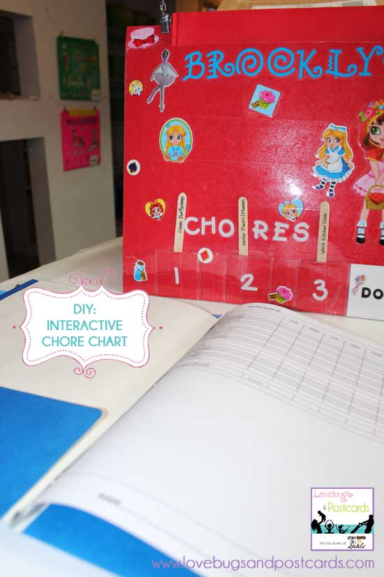 DIY: Interactive Chore Chart and Organizer