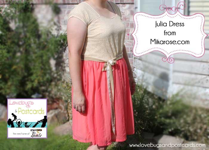 Julia Dress from Mikarose