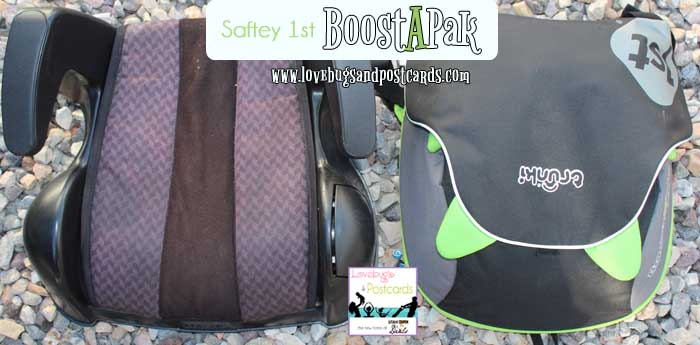 Safety 1st BoostApak  is smaller then regular booster seats