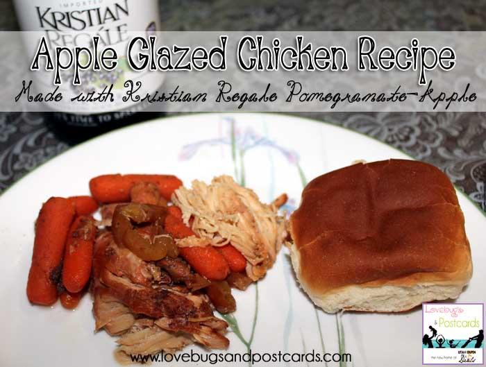 Kristian Regale juices - Apple Glazed Chicken Recipe