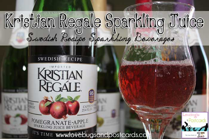 GIVEAWAY: Enter to win a 6-pack of Kristian Regale Sparkling Beverages (ends 12/9)