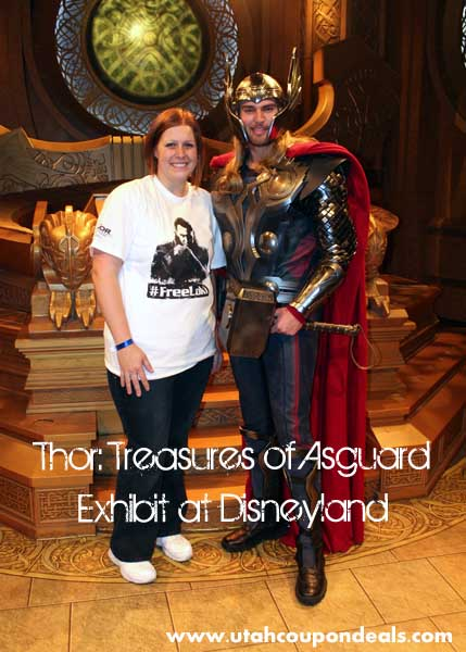 Thor: Treasures of Asgard Exhibit at Disneyland