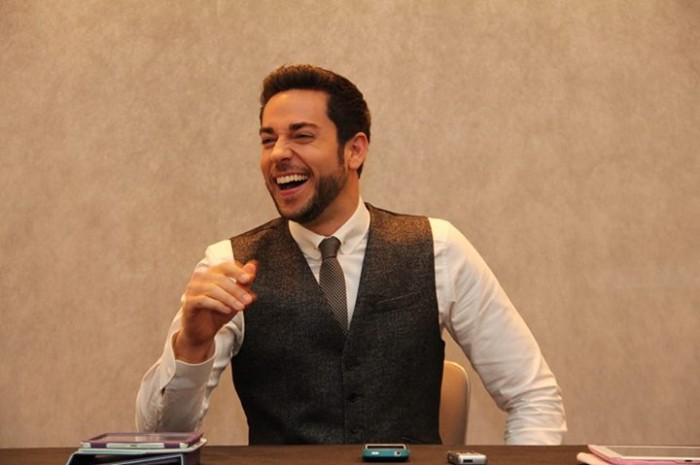 @ZacharyLevi talks about Thor: The Dark World #thordarkworldevent