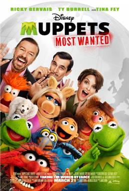 "Disney's ""Muppets Most Wanted"""