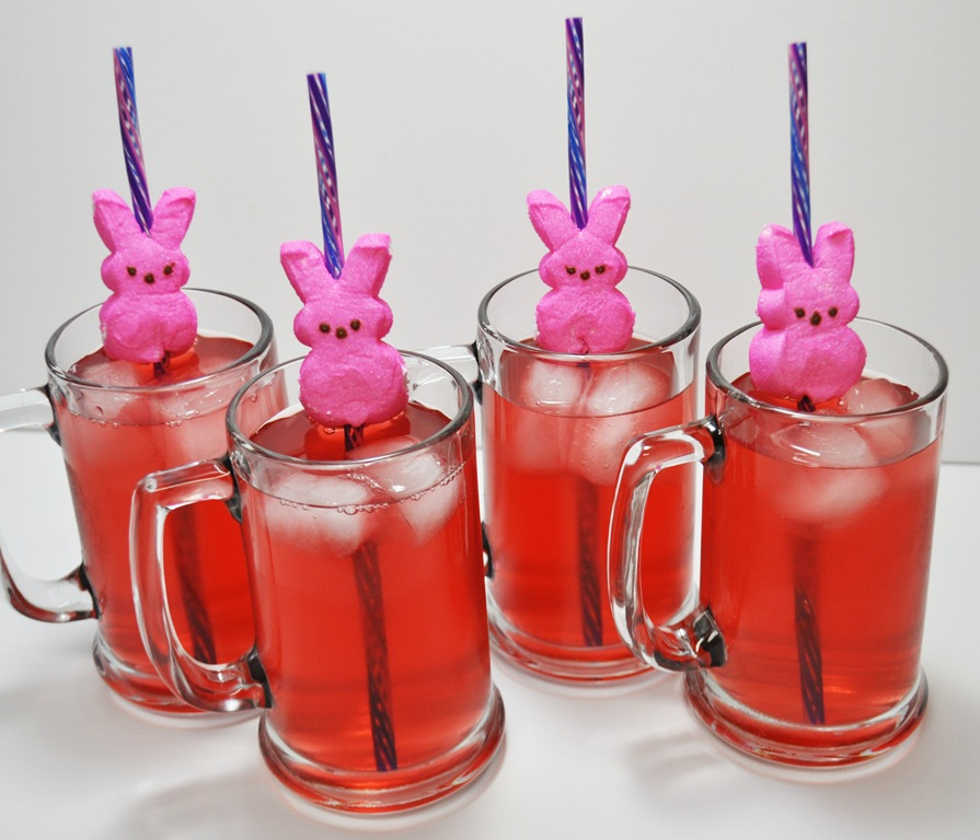 Easter Bunny Peep On A Straw