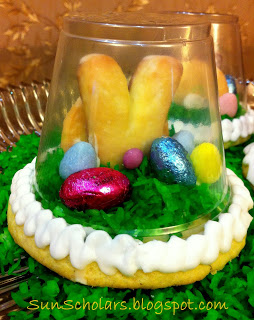 Edible Easter Spring Globes