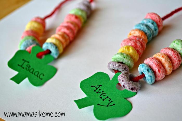 Shamrock Rainbow Necklaces
