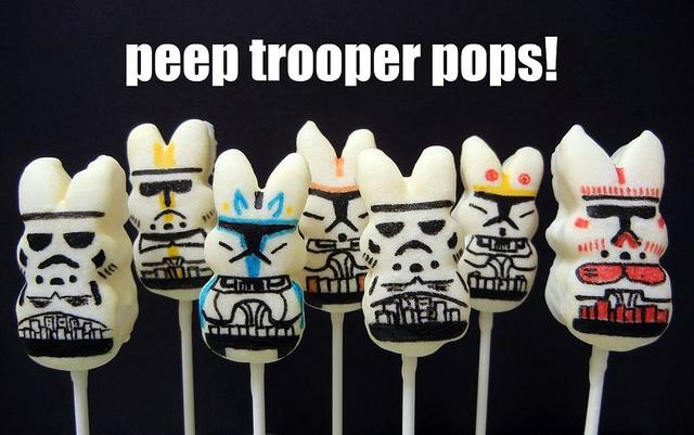 Marshmallow Peep Pops