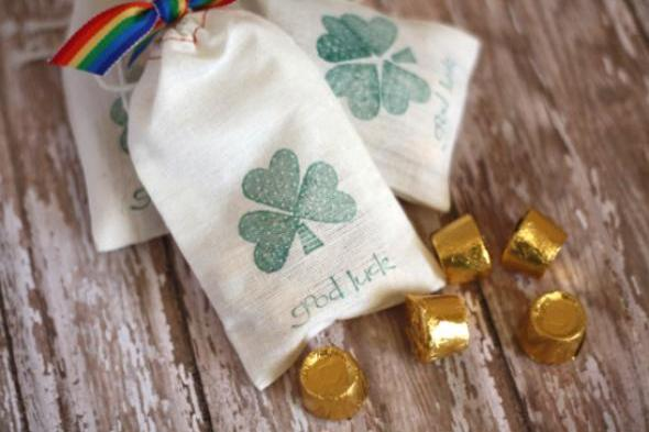 Bag Of Gold St. Patrick's Day Treats