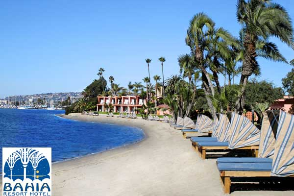 Bahia Resort and Hotel in San Diego {perfect vacation spot for Spring Break}