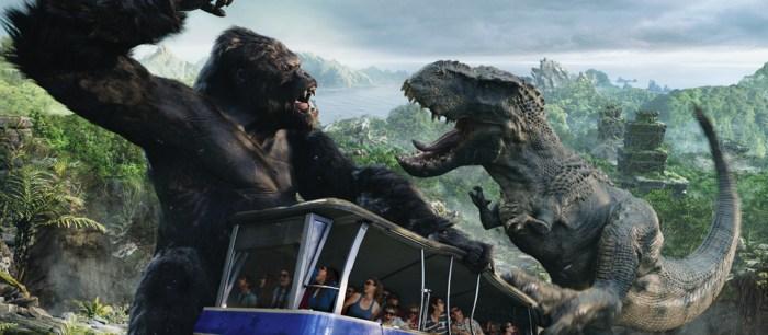 Universal Studios Hollywood King Kong 360 3-D Ride