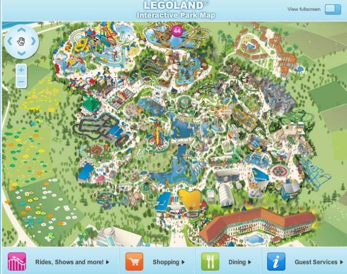 LEGOLAND® California Resort - Interactive Park Map
