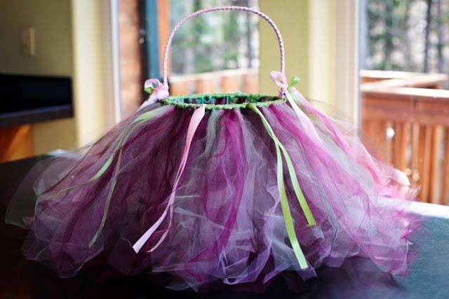 DIY: Easter Basket Tutu