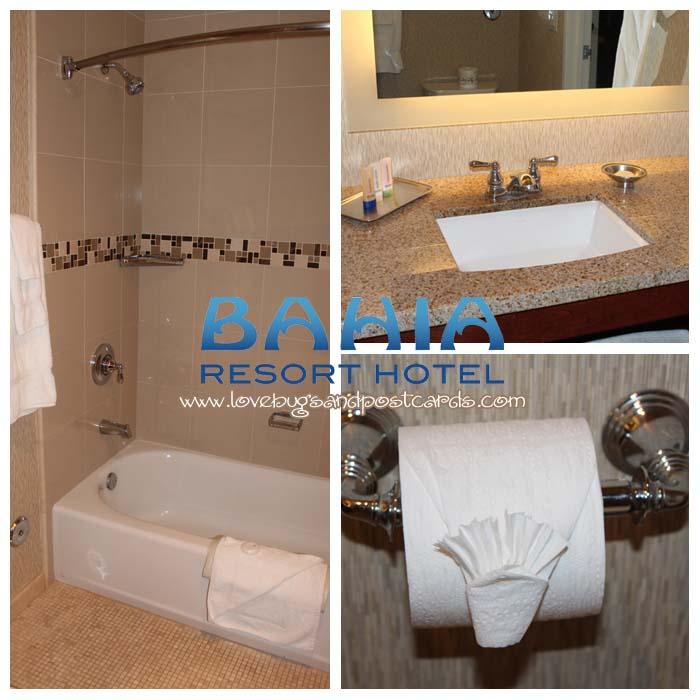 Bahia Resort Hotel - Bathroom in Bayside Suite