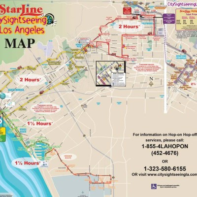 The StarLine Hop-On Hop-Off Tour is perfect for Families to see Hollywood!